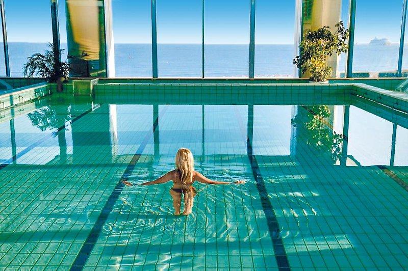 In diesem Hotel hast du ein Hervorragenden Blick über die Ostseeküste