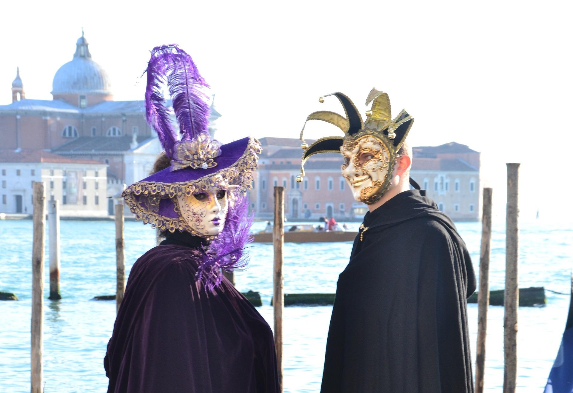 Karneval in Venedig feiern ist ein unglaubliches Erlebenis! vom 23.02-05.03 wird hier gefeiert