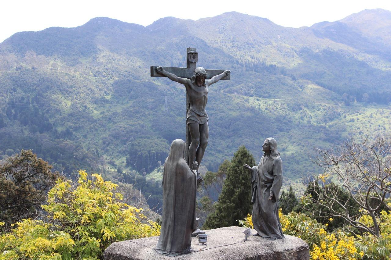 Kolumbien ist ein sehr gläubiges Land -