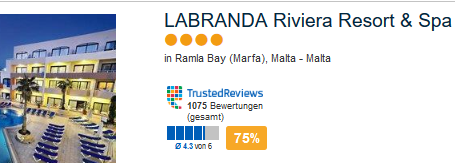 Labranda Riviera Pauscahlreise im 4 Sterne Hotel