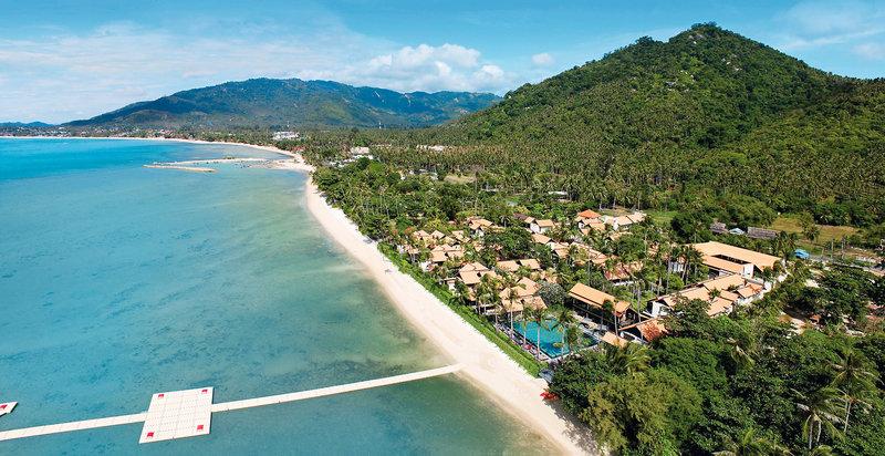 Lamai Strand auf Koh Samui