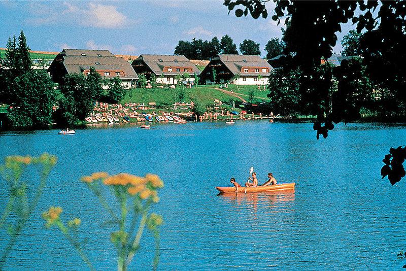 Maltschacher See bei Kärnten - sauberes Glasklares Wasser