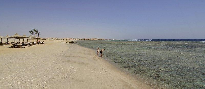 Marsa Alam Strandabschnitt vom Hotel Nada Resort