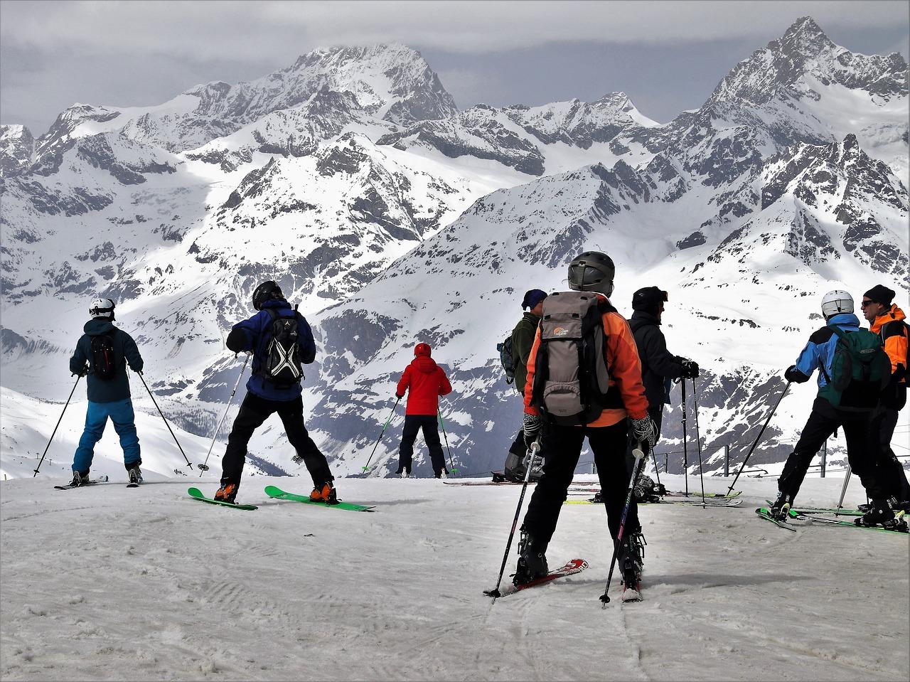 Matterhorn-Zermatt Skiregion Nummer eins in der Schweiz