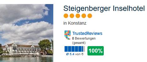 Mein Favorit das Steigenberger Inselhotel