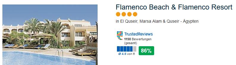 Meine Empfehlung für einen erstklassigem Urlaub in Ägypten das Flamenco Beach & Flamenco Resort