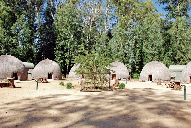 Milwane Rest camp - Beehive Villages Nyala Belsbok Roan