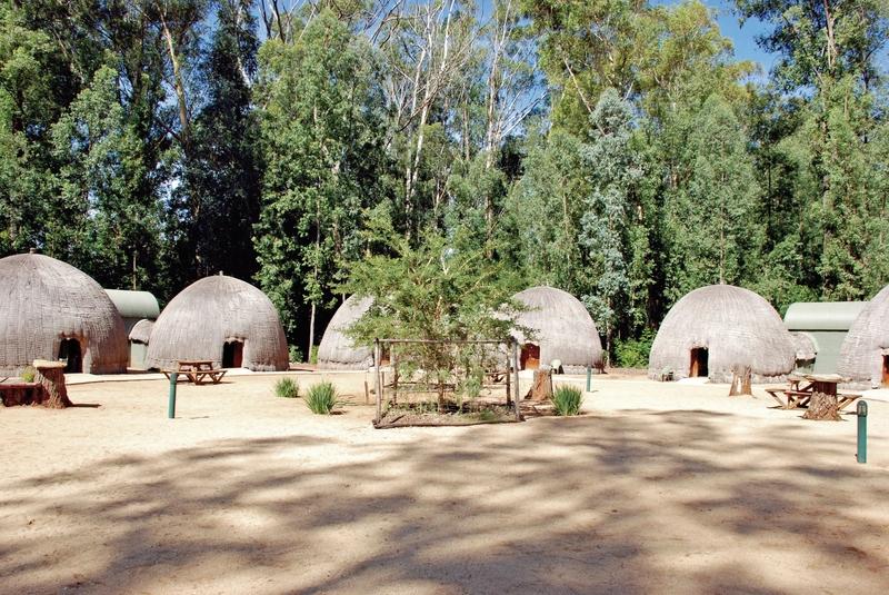 Milwane Rest camp - Beehive Villages Nyala Belsbok Roan