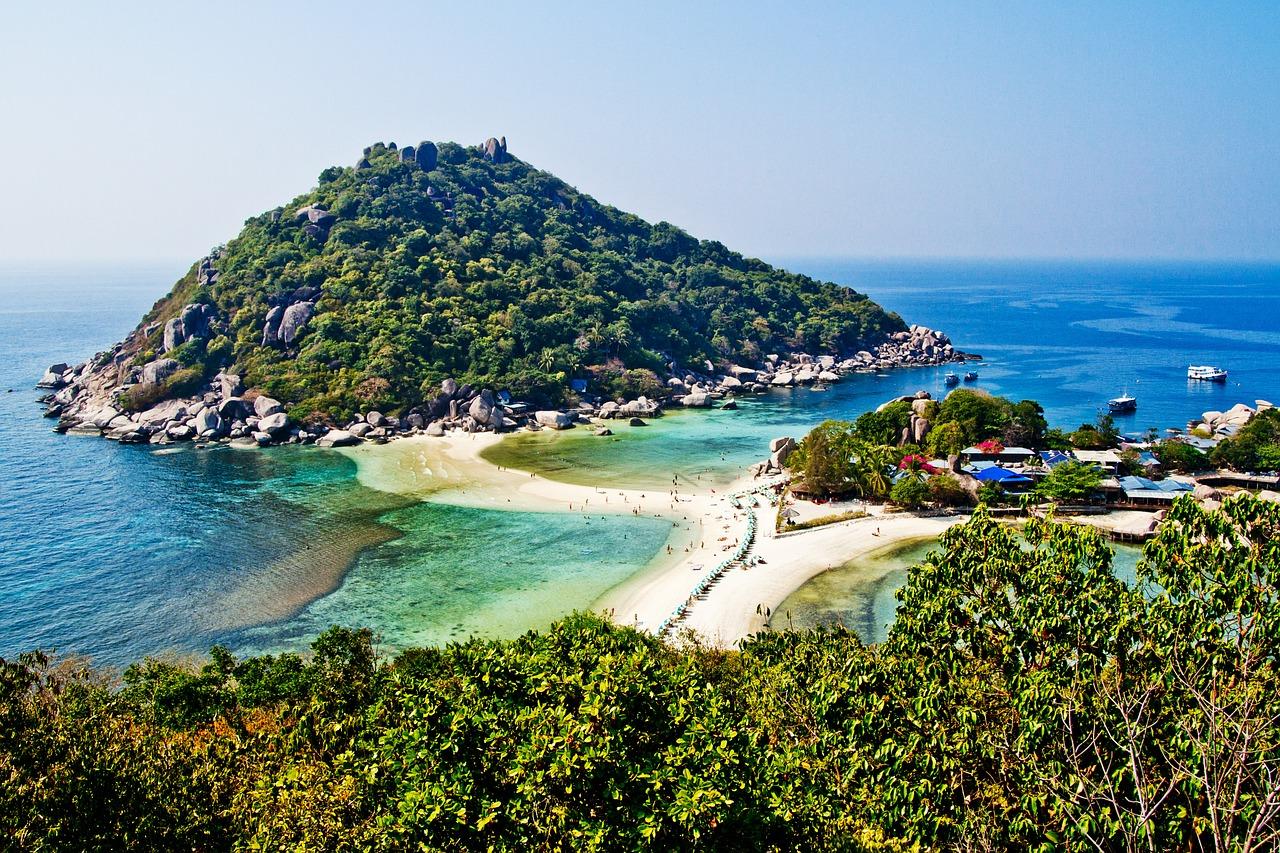 Nachbar Insel Koh Tao ist noch kleiner als Koh Samui es ist ein Paradiers zum tauchen & schnorcheln