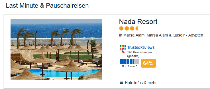 Nada Resort in Marsa Alam
