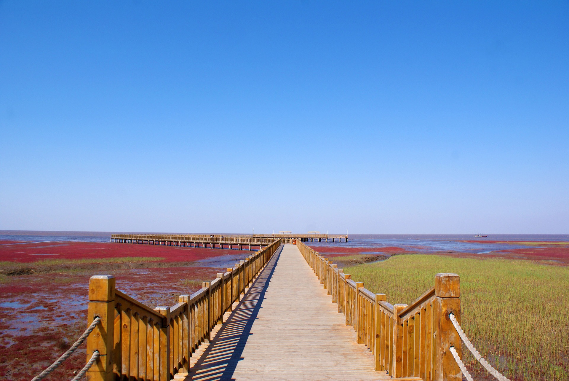Panjin die Stadt mit dem roten Strand in China Pauschal ab 729,84€