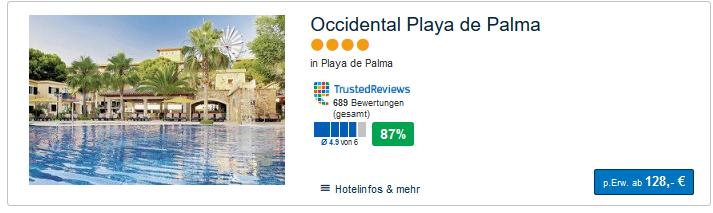 Pauschalreise auf die Balearen ab 128,00€