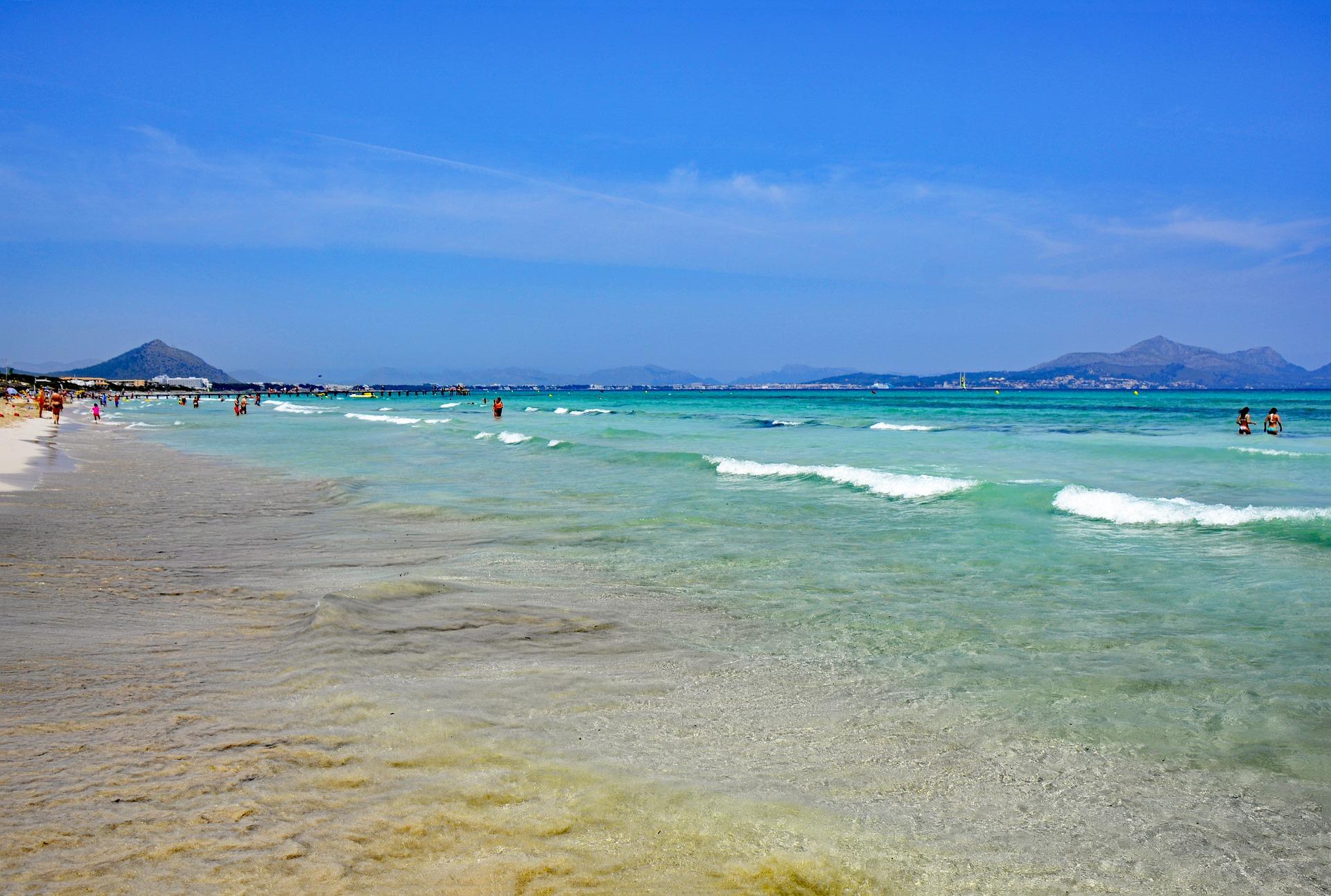 Playa de Muro der schonste Strand auf Mallorca