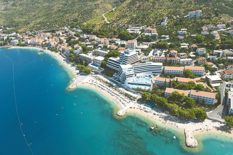 Podgora Kroatien Hotel ab 41,00€ Pauschalreise ab 293,00€ eine Woche