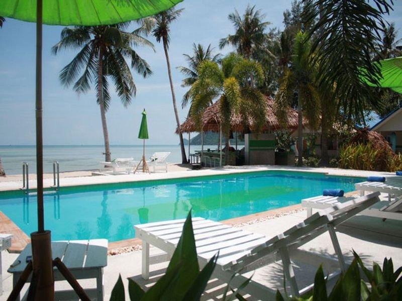Pool vom Hotel auf Koh Phangan am Ban Tai Beach