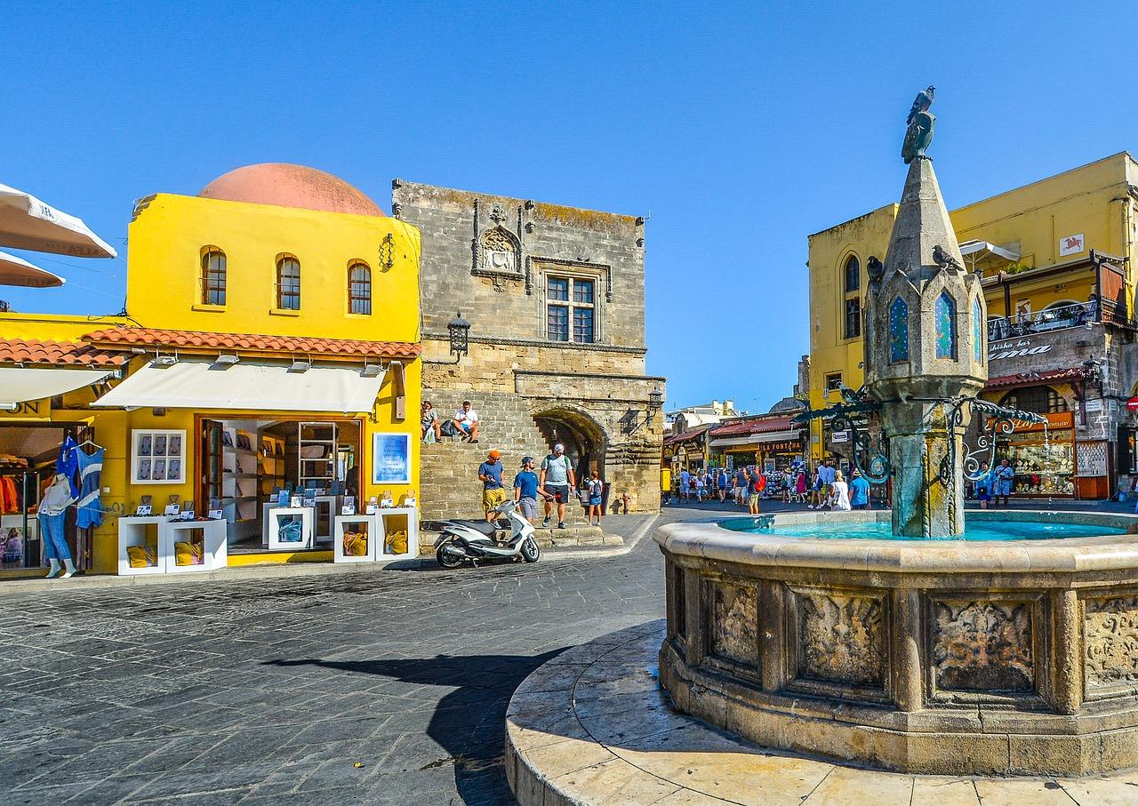 Rhodos Stadt - im Norden der Insel befindet sich der Ort