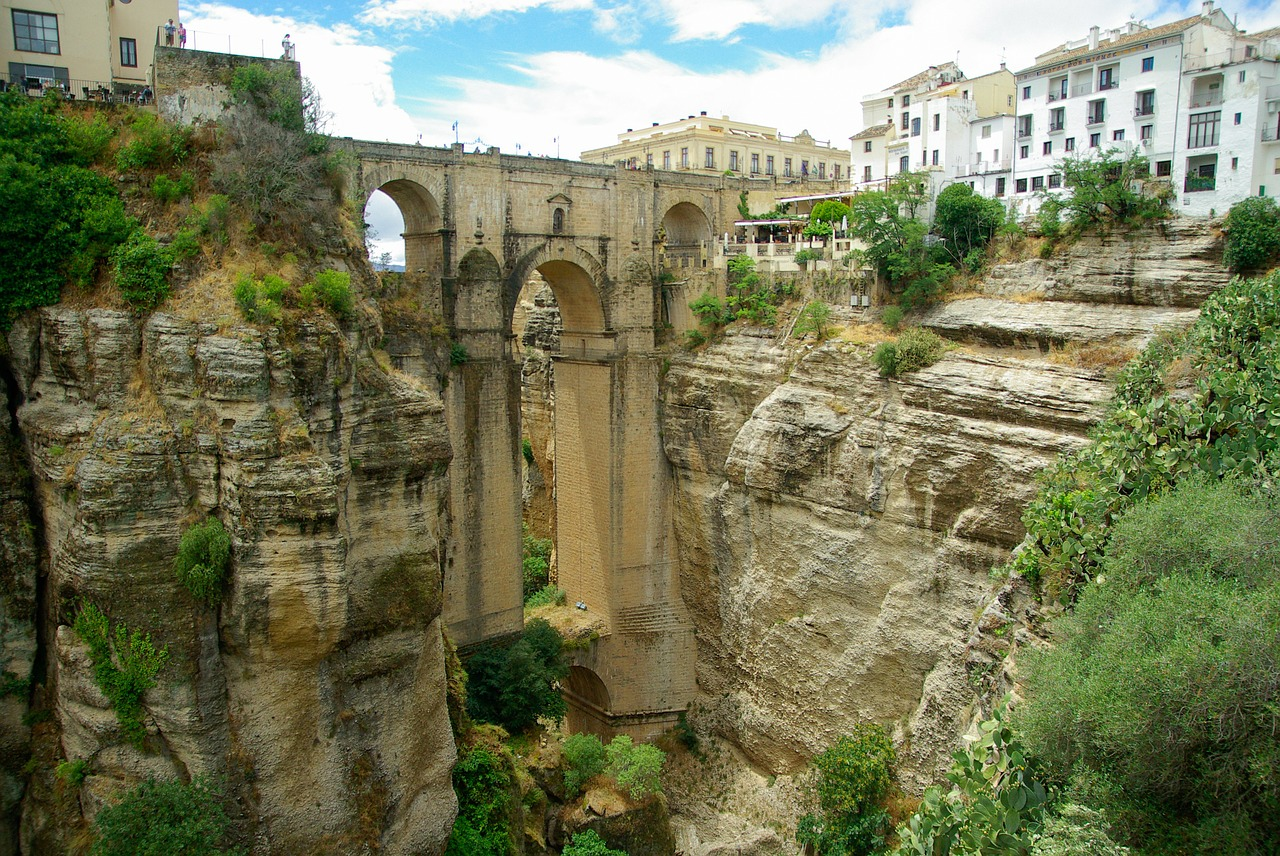 Ronda die Felsstadt bei Malaga