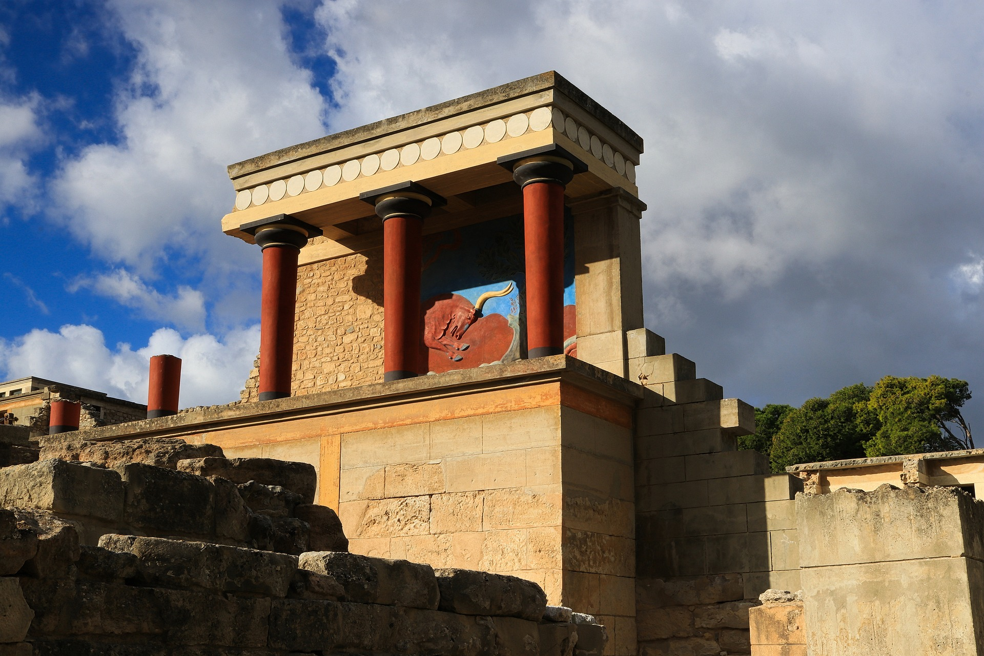 Ruinen vom Palast Knossos - Griechenland Kreta