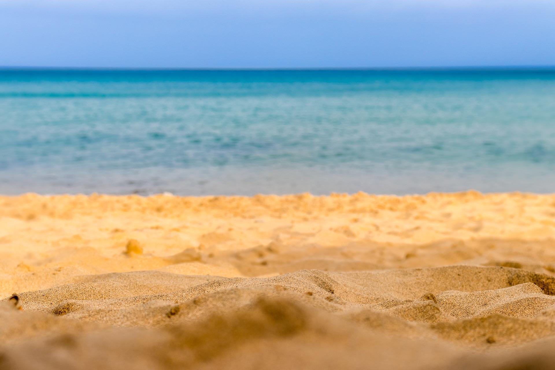 Santo der Strandabschnitt