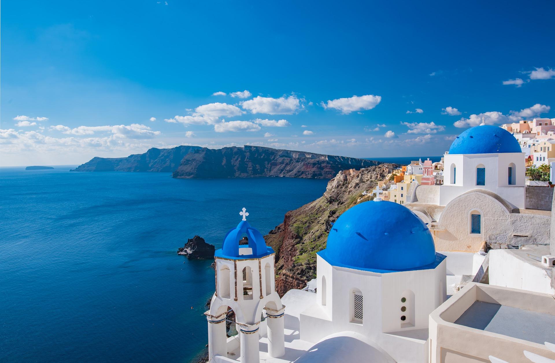 Santorin - eines der beliebtesten Urlaubsziele für päärchen