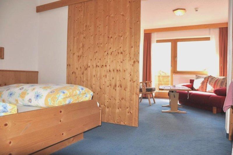 Schlafzimmer im Hotel Kleon