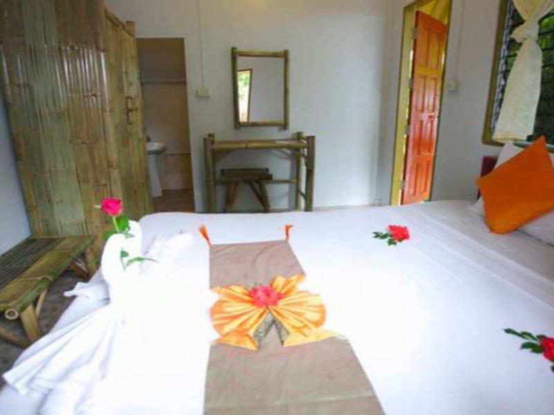 Schlafzimmer vom Koh Phangan Bungalow