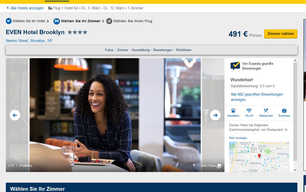 Screenshot 8 Tage New York Amerika Städtereise ab 524€ Flug+Hotel