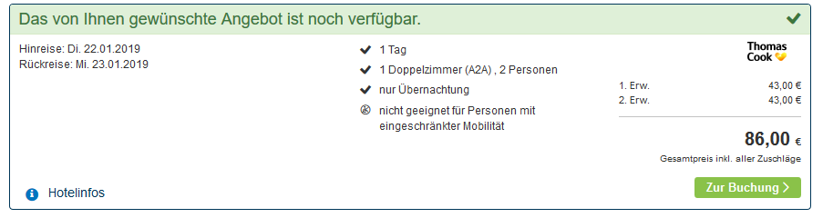 Screenshot Deal Nordfriesische Inseln 41 Unterkünfte ab 43,00€