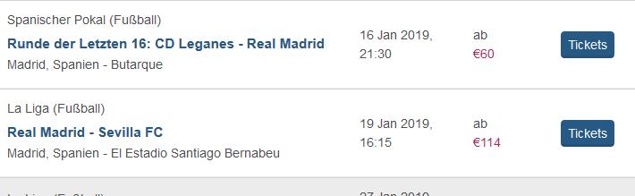 Screenshot La Liga Tickets günstig buchen