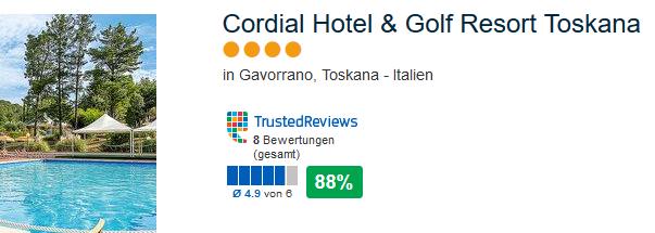 Die 4 Sterne Unterkunft Cordial Hotel & Golf Resort Toskana