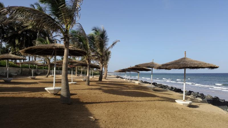Serekunda am Kololi Beach das The Kairaba Beach Hotel