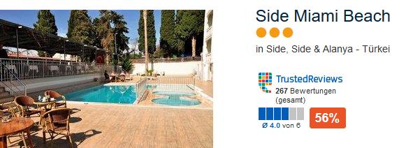 Side Miami Beach 3 Sterne Unterkunft perfekt für den Singleurlaub