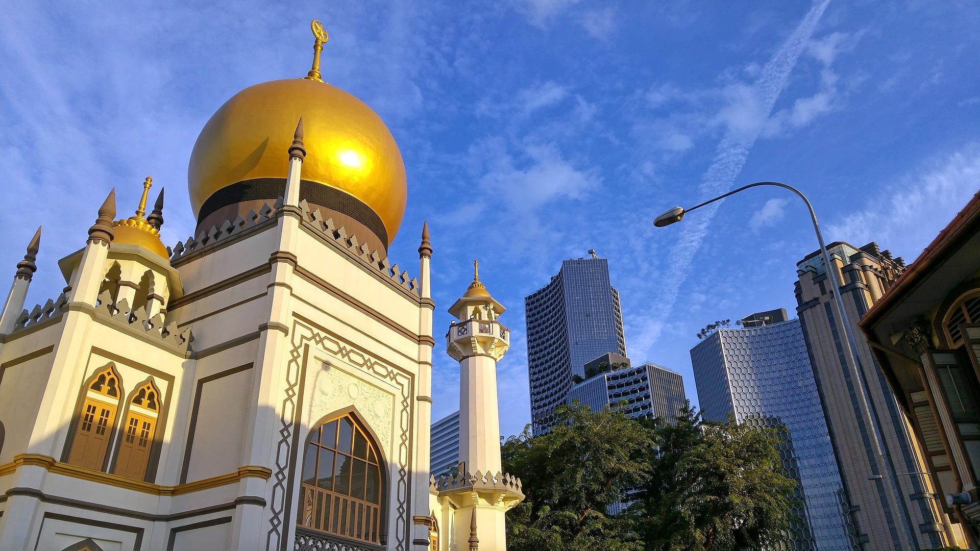 Singapore ein Land der vom Islam geprägt ist