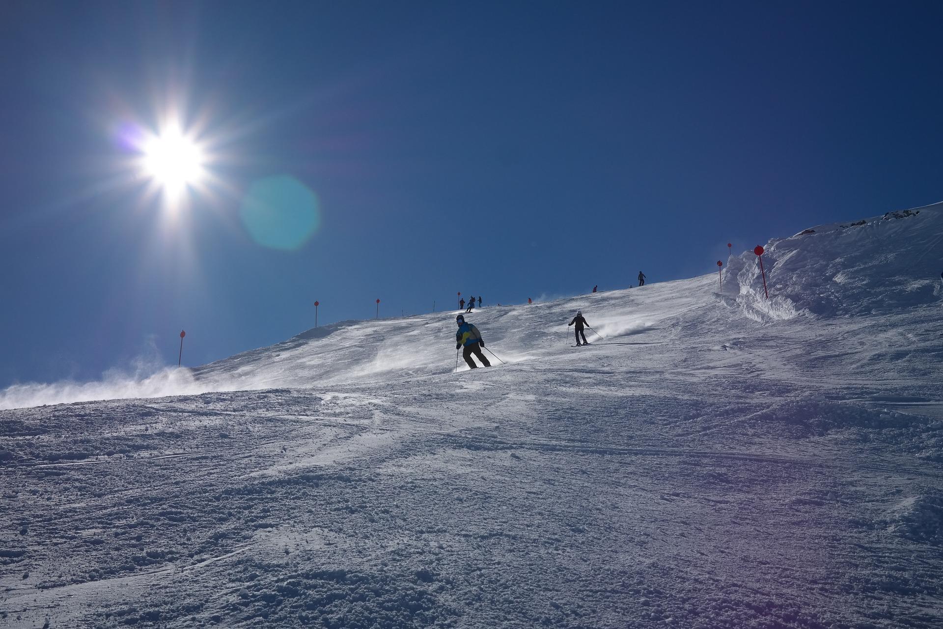 Skifahren in Alberg