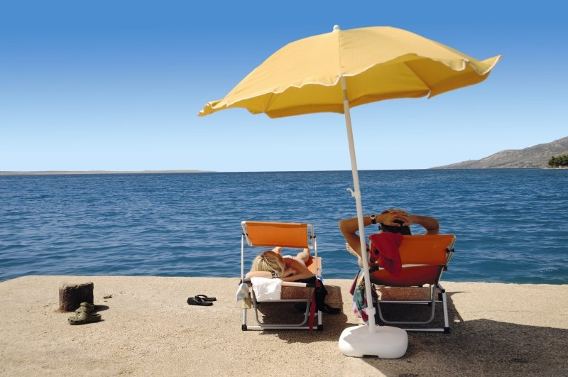 So chillen Sie am Meer an der Adriaküste im Naturschutzgebiet