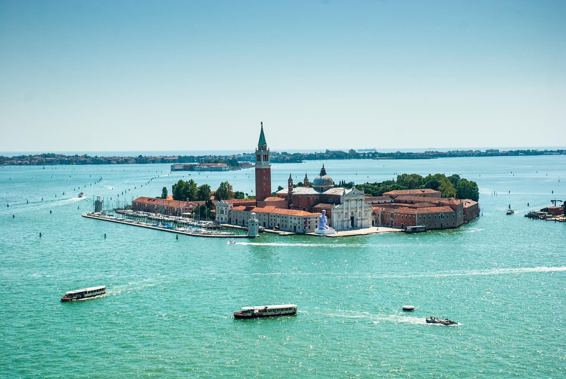 Sonnen Insel in Venetien