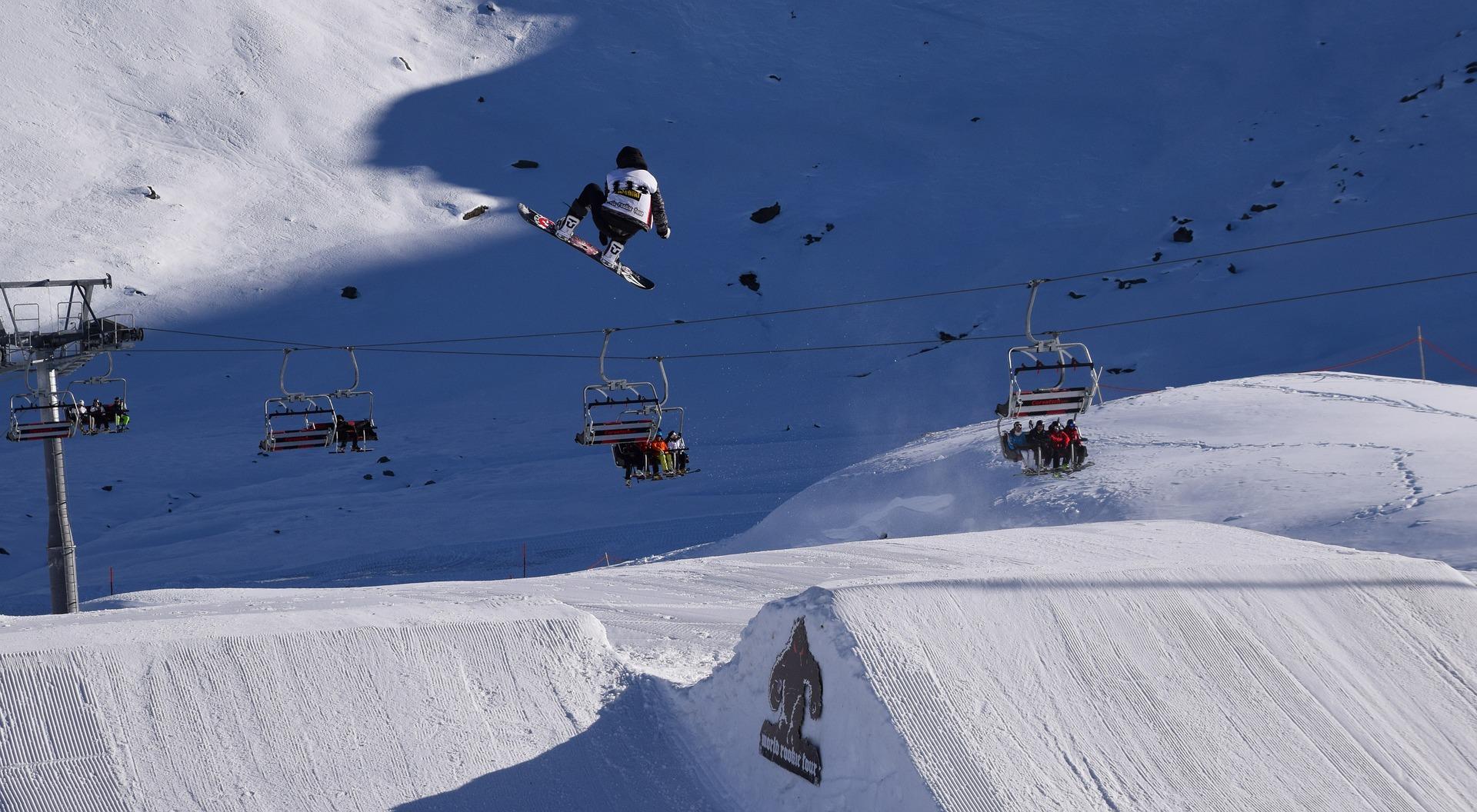 St. Moritz Skigebiet in der Schweiz