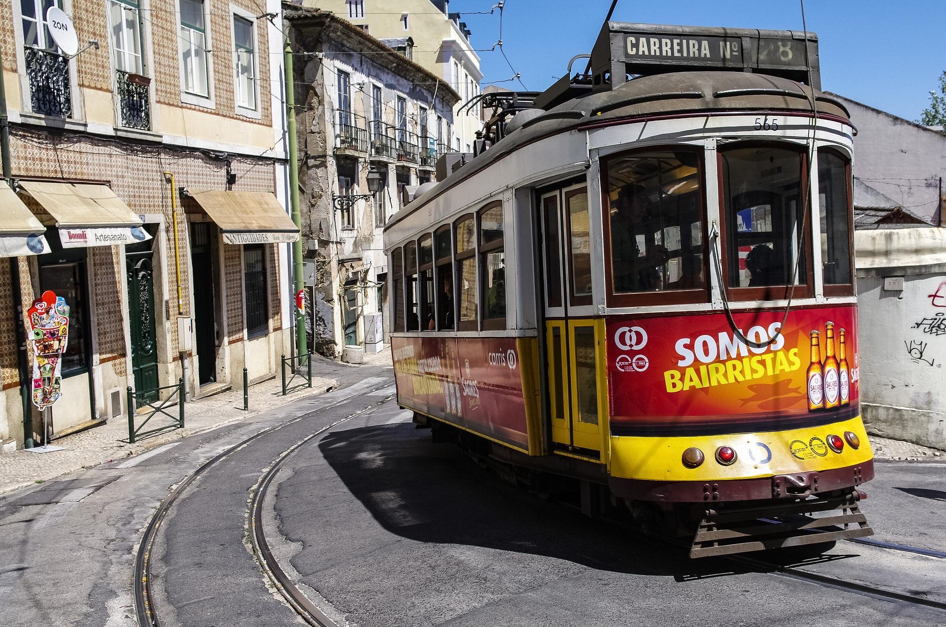 Straßenbahn in Lissabon