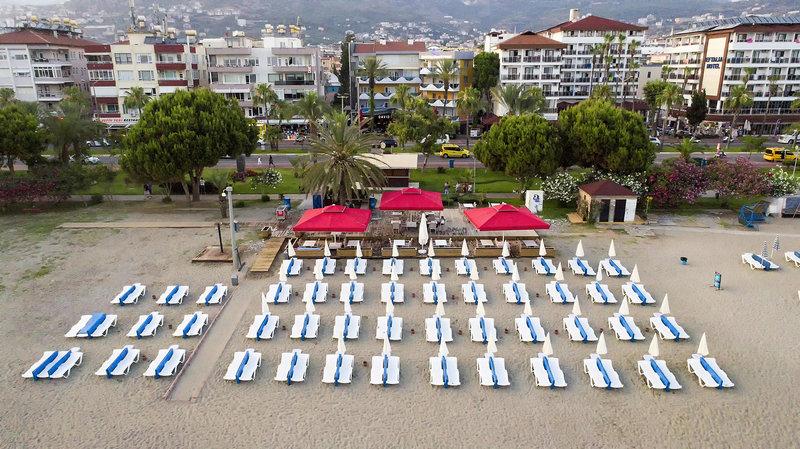 Strandabschnitt vom Arsi Enfi City 4 Sterne Beach Hotel