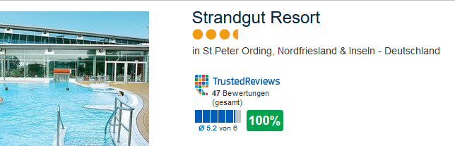 Strandgut Resort St Peter Ording
