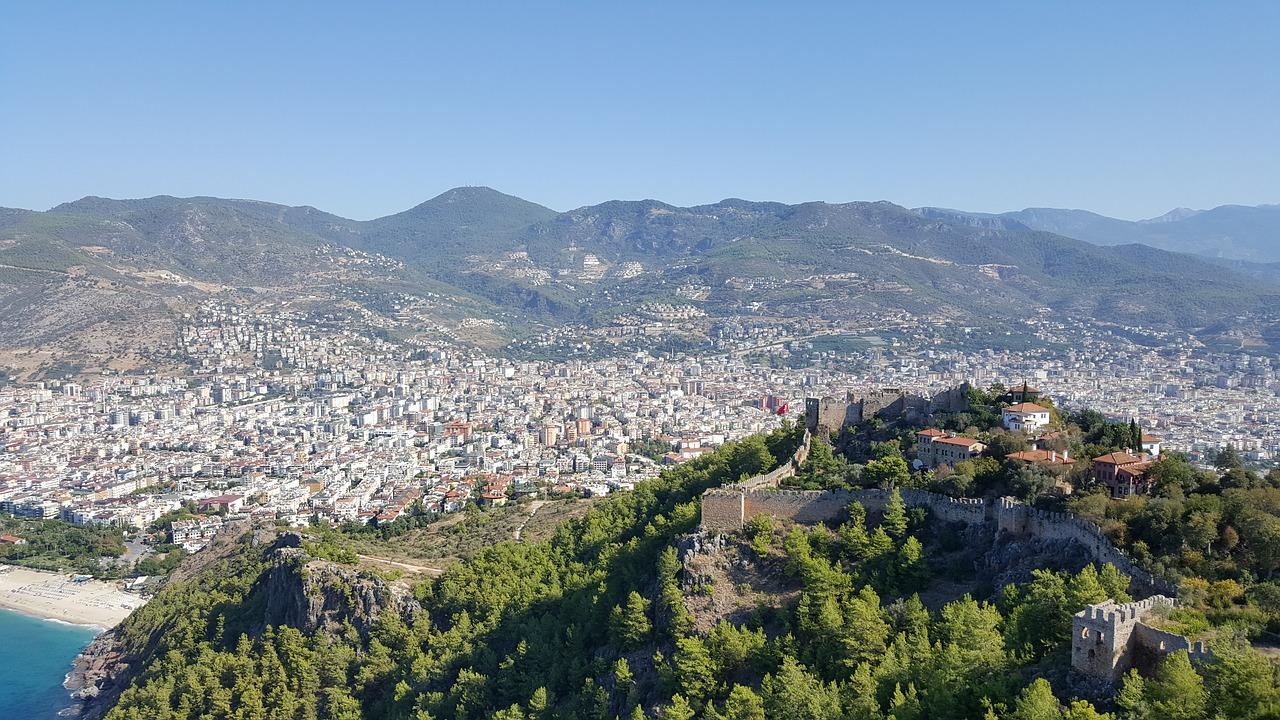 Türkische, Riviera
