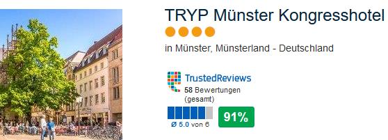 TRYP Münster Kongresshotel das günstigste und beste
