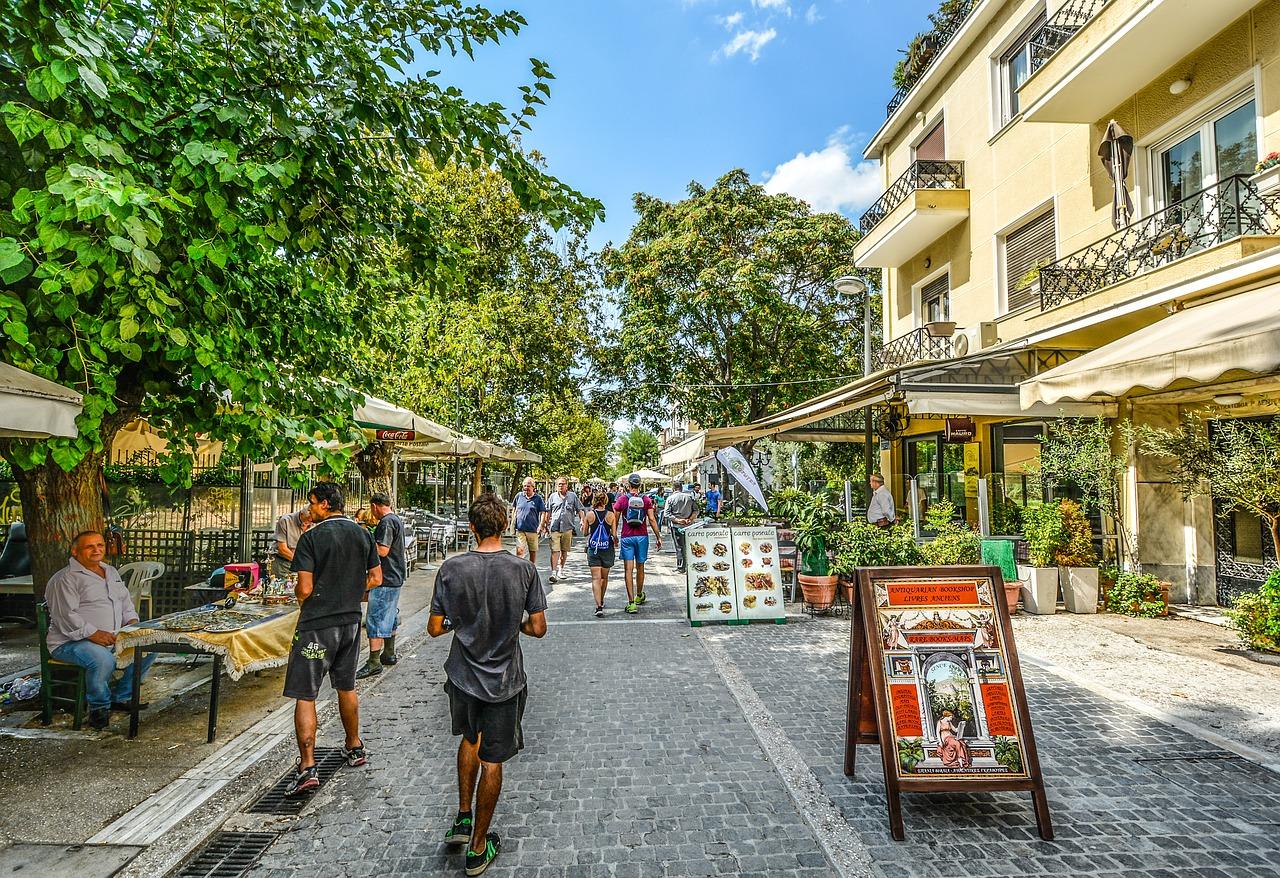 Viel spaß euch beim Gassi gehen in der Hauptstadt von Griechenland
