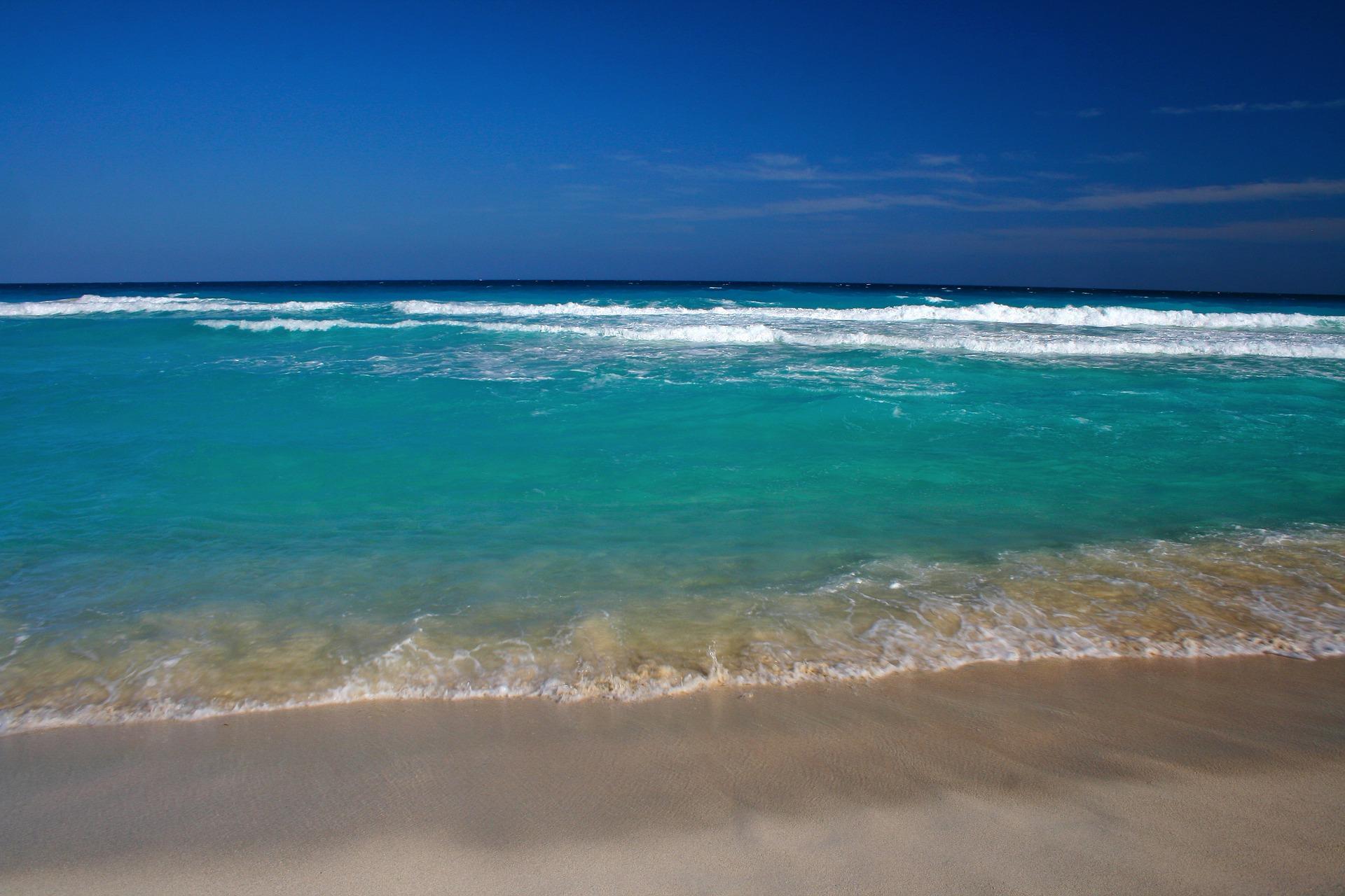 Warst du schonmal im karbischen Meer baden ?