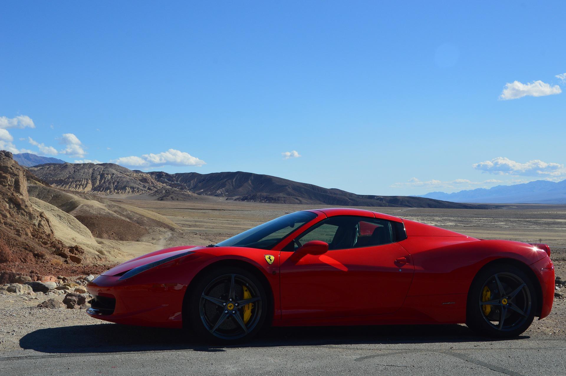 Wie wäre es mit einem Ferrari durch die Westküste USA's zu reisen Check24 Mietwagen macht es möglich