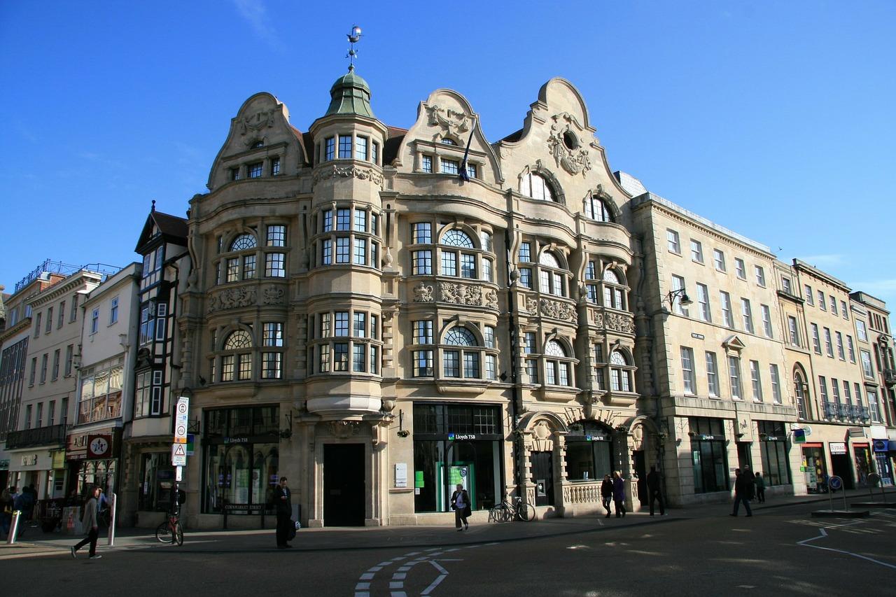 Wilkommen in der Oxford Street