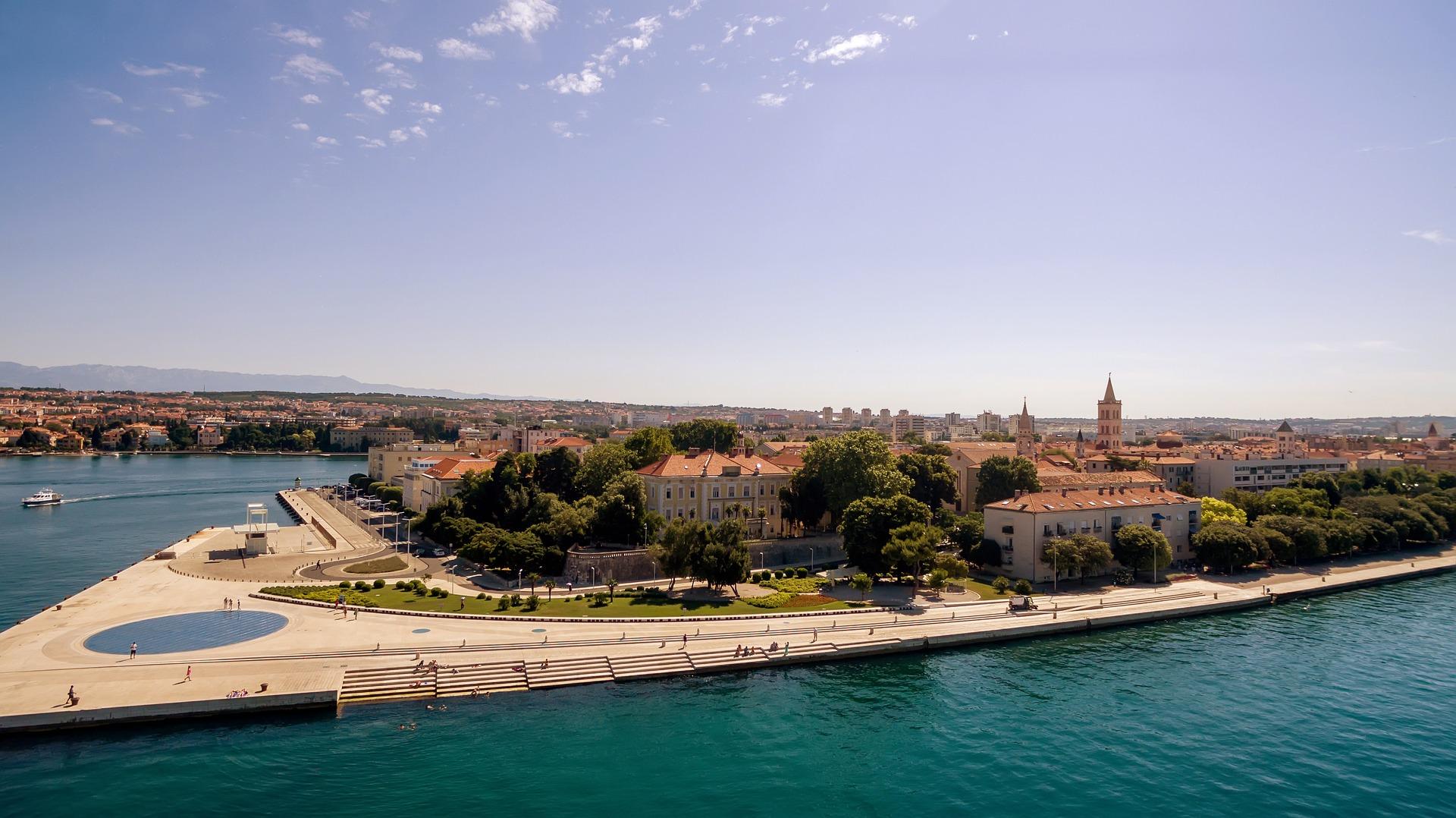 Zadar Stadt im Sommer definitv die beste Reisezeit