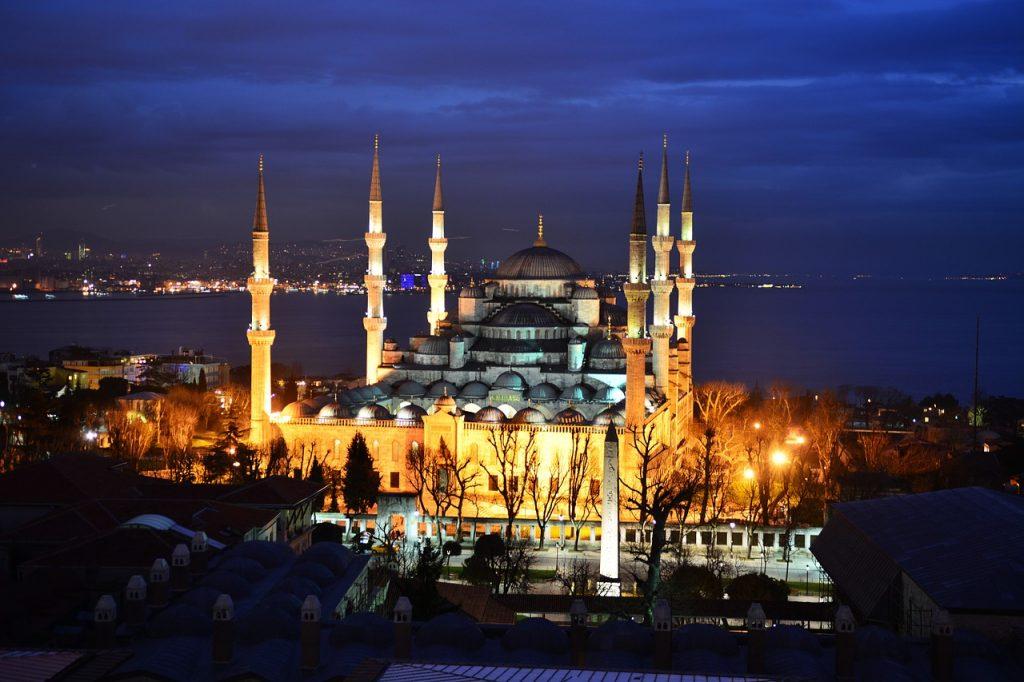 Blaue Moschee - Sultan Ahmed Moschee
