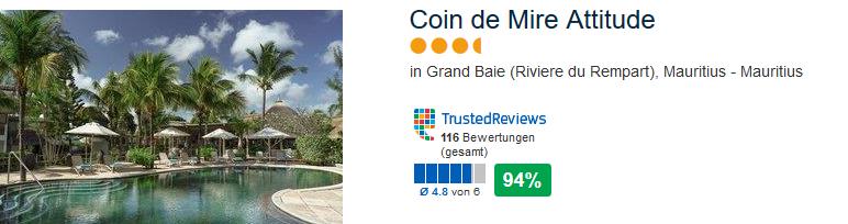 Coin de Mire Attitude Hotel an der Riviere du Rempart