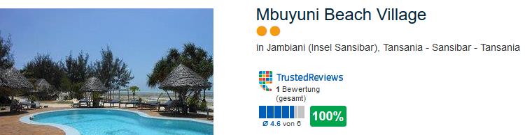 Mbuyuni Beach Village in Jambiani